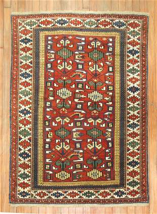 Red Antique Shirvan Rug