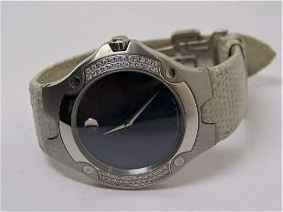 S/Steel MOVADO SPORTS EDITION Ladies Watch Ref 84 G1