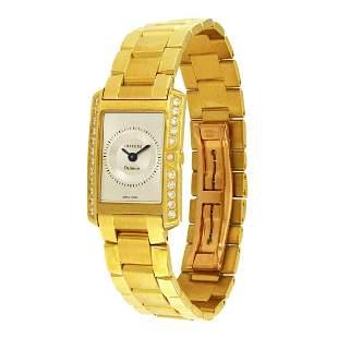 Concord Delirium 18 Karat Yellow Gold Diamond Watch