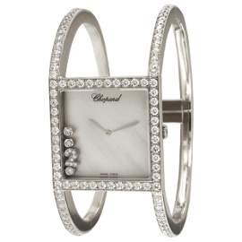 Chopard Happy Sport 18 Karat White Gold Limited Diamond