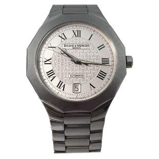 Baume & Mercier Riviera Stainless Steel Automatic Watch