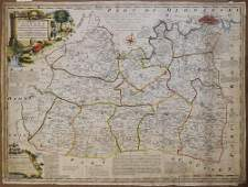 1750 Bowen Map of Surrey in UK - An Accurate Map Of The