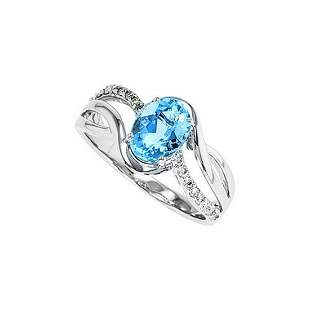 Aquamarine Ring 1.20ct TGW