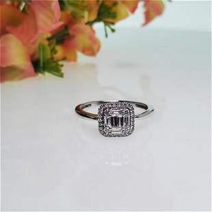 Diamond Ring .40ct TGW