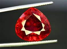 15.50 Carats Natural Trillion Cut Rubellite Tourmaline