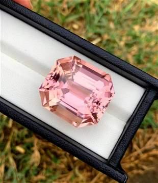 Natural Hot Pink Kunzite Loose Gemstone From