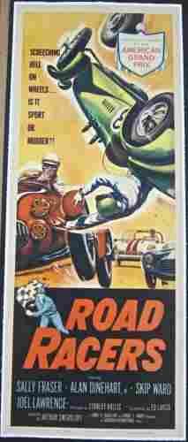 "ROAD RACERS '59 LB INSERT ""SCREECHING HELL ON WHEELS?!"""