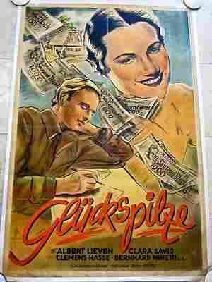 PRICE CUT 3X! WW2 ERA GERMAN FILM GLUCKSPILZE aka LUCKY