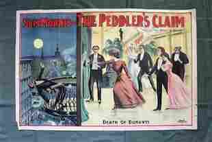 """The Peddler's Claim - Starring Sam Morris (1900's) 28"""""""