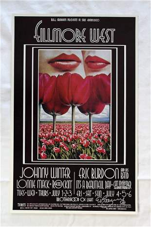 Fillmore West Johnny Winter and Eric Burdon (USA, 1969)