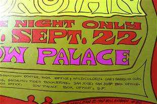"Donovan (USA, 9/27/1967) Concert Movie Poster 14"" x 22"""