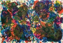 Sam Francis original lithograph