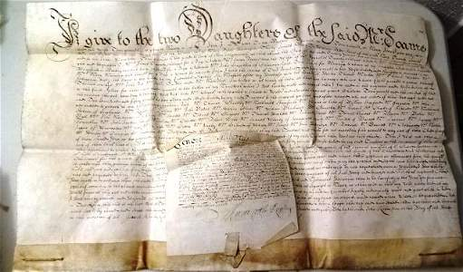 1676 Vellum Will of London Alderman
