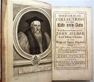 1701 Historical Collections of John Aylmer
