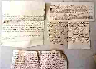 1760 Group of London Documents St Pauls