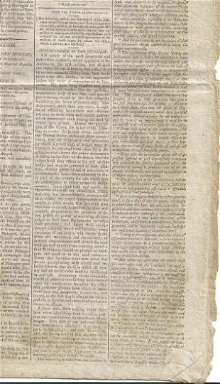 1805 Boston Gazette Independence of Judiciary