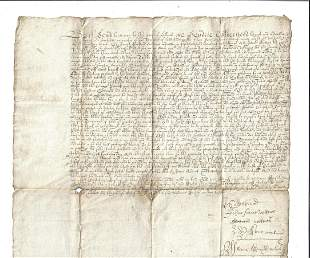 16th C Manuscript Scotland Musselburgh