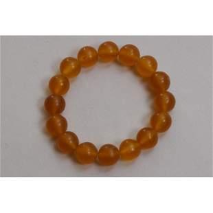 21g Vintage 100% natural Baltic amber bracelet