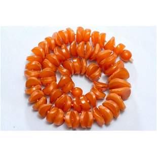 91 g. butterscotch 100% natural Baltic amber necklace