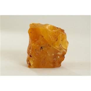 100% Natural Baltic amber stone raw (rough) 65g