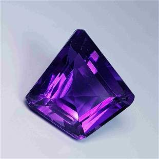 Natural Amethyst Fancy Cut 7.69 ct
