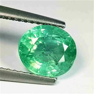 1.83 ct Natural Green Apatite