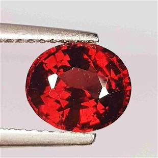 Natural Rhodolite Garnet Oval Cut 2.28 ct