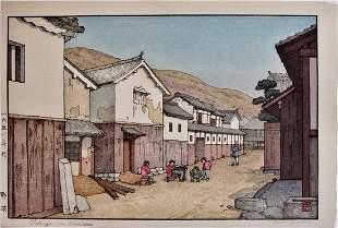 Toshi Yoshida: Village in Harima