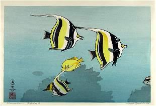 Toshi YOSHIDA: Hawaiian Fishes 'A'