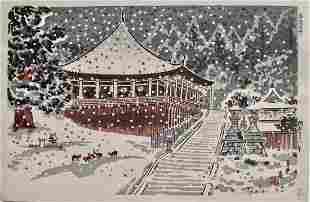 Tokuriki: Nigatsudo Pavilion