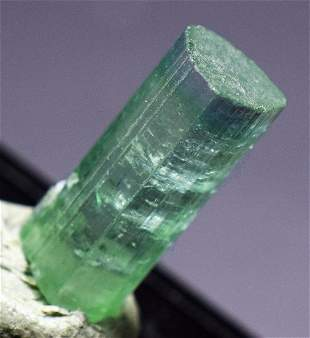 Natural Tourmaline Crystal Paraiba Color Undamaged and