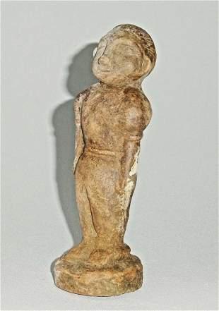 Prehistoric Thai Molded Clay Figure Burial Non Nok Tha