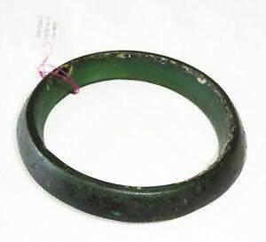 1500BC Prehistoric Thai Lop Buri Green Glass Bangle