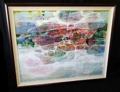 80 Hawaii/Chinese Painting Hawaii Reflections Lau Chun