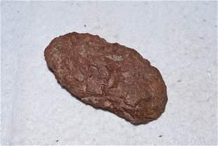 "3"" Hematite Blade, Native American Artifacts"