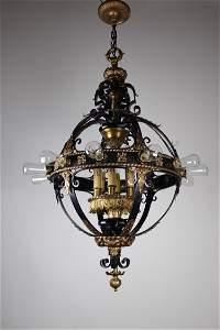 Italian Renaissance Flush Mount Stair Lantern