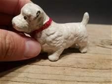 Miniature Cast Iron White West Highland Scottish