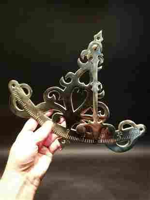 Brass Pendulum Nautical Inclinometer