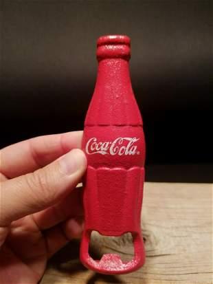 cast Iron Red Coca Cola Bottle Opener