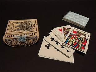 19th C Style Deck of Playing Cards