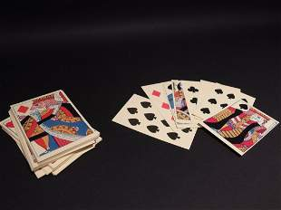 Colonial Deck of Playing Cards