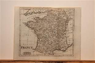 1801 Map of France