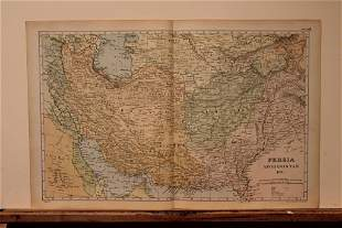 1892 Map of Persia