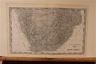 1893 Map of South Africa