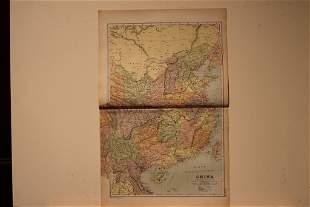 1892 Map of China