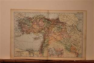 1892 Map of Turkey