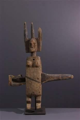 Bamana / Bambara wooden lock - Mali - African Art