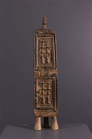 Dogon pharmacopoeia box - Mali - African Art Tribal Art