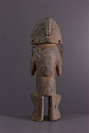 Zande Nazeze wood figure of the Mani-yanda cult - Sudan
