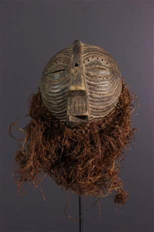 Luba Kifwebe small wooden mask - DRC Congo - African